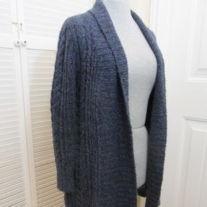 Croft and Barrow blue cardigan